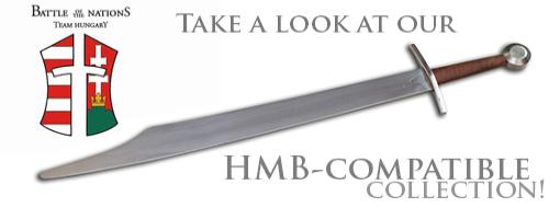 Schwerter für BUHURT HMB