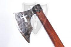 Axt im Stil des XIV. Jahrhunderts - mit Kreuz für HMB oder Schaukampf