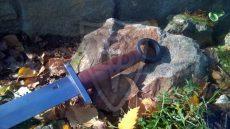 Szarmata kard gyűrűs markolatgombbal