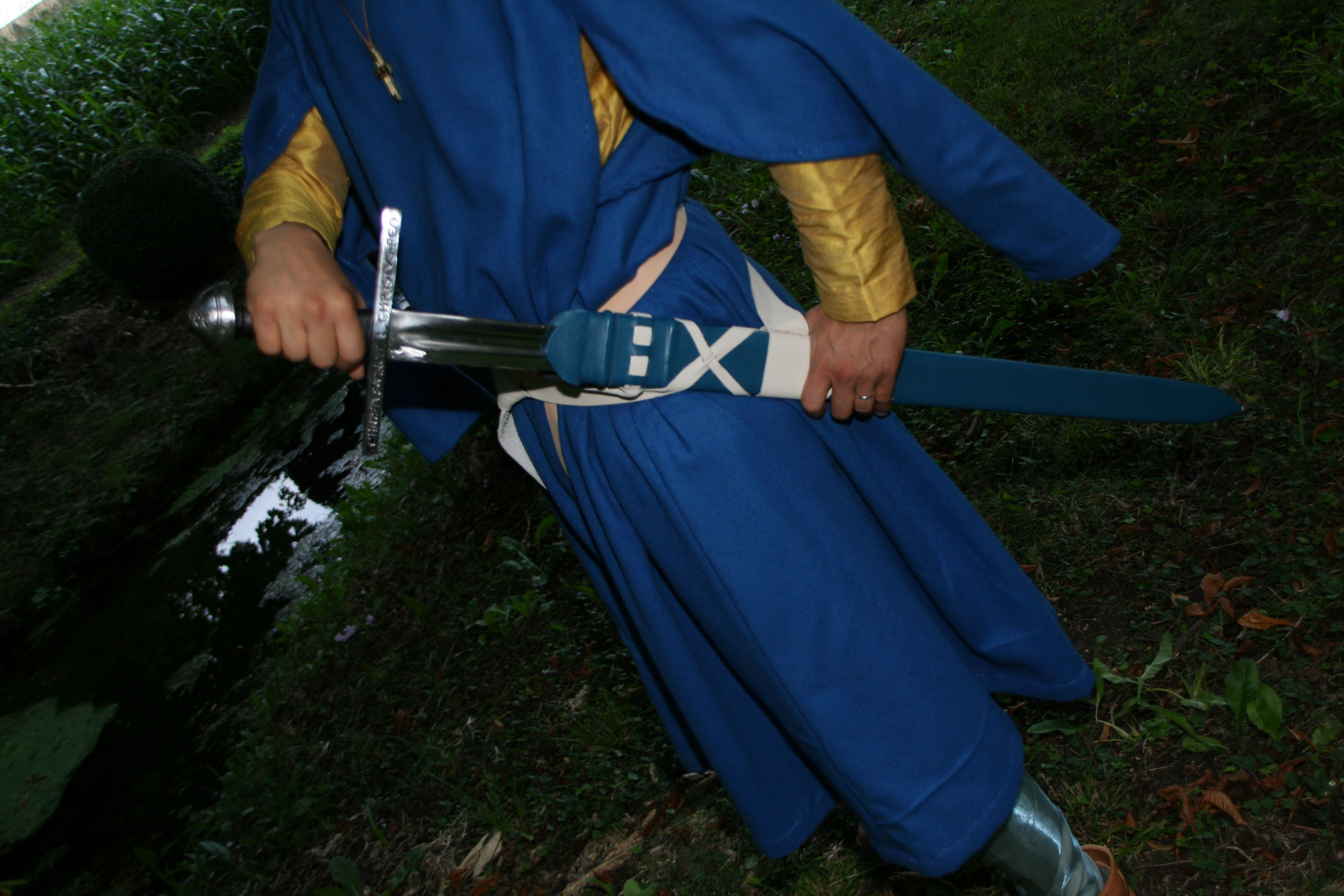 Der Ritter, und seine Waffe